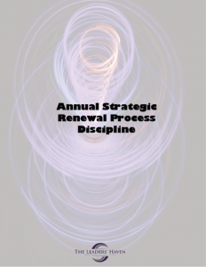 Annual Strategic Renewal Cover
